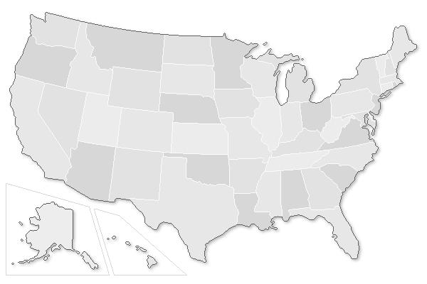 IFT Featured Jobs USA Map