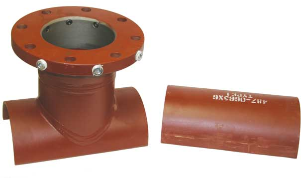 IFT Series 530 Tapping/Line Stopping Outlet Real Image