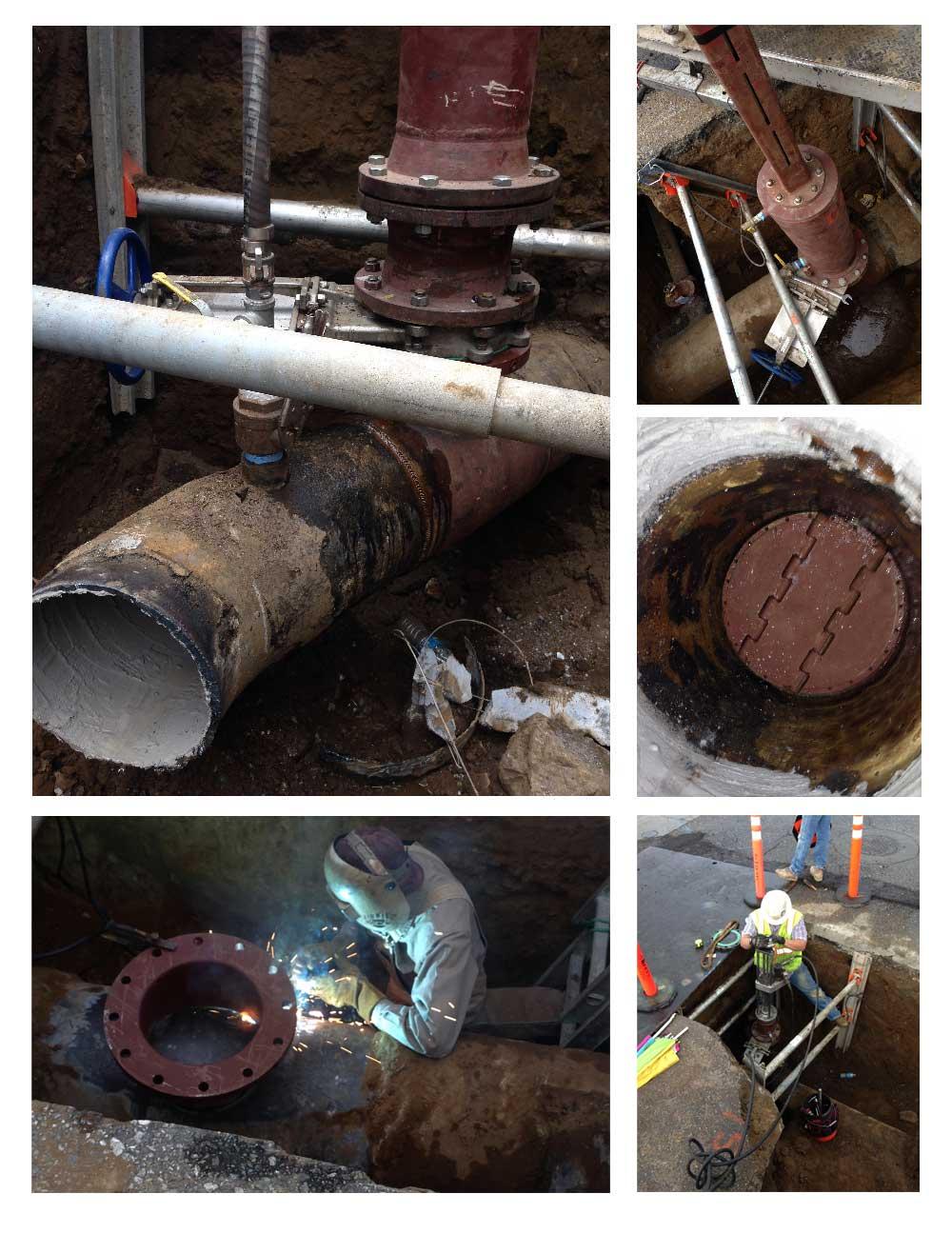 """18"""" Steel Pipeline Plug"""