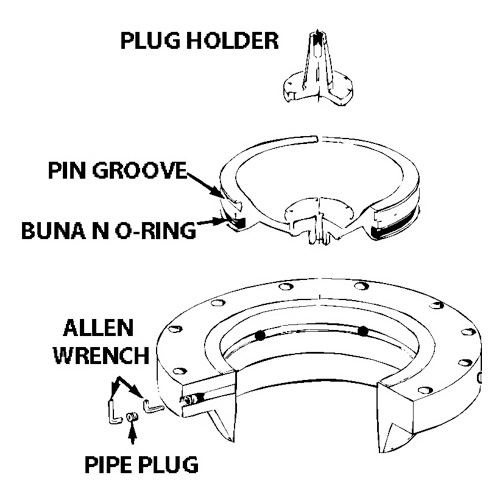 Completion Plug Diagram