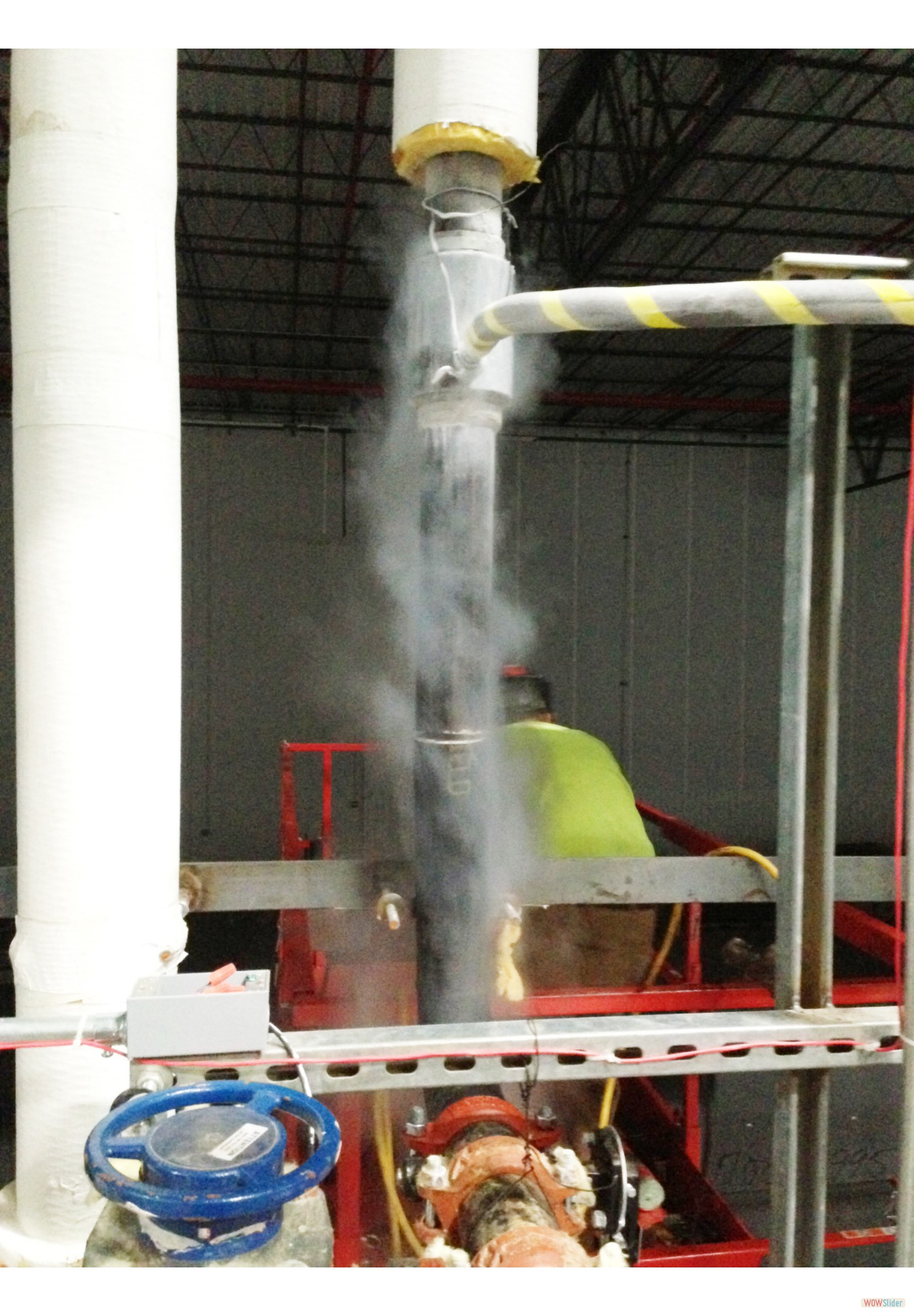 3 Inch FreezePlug Pipeline Cut by Welder