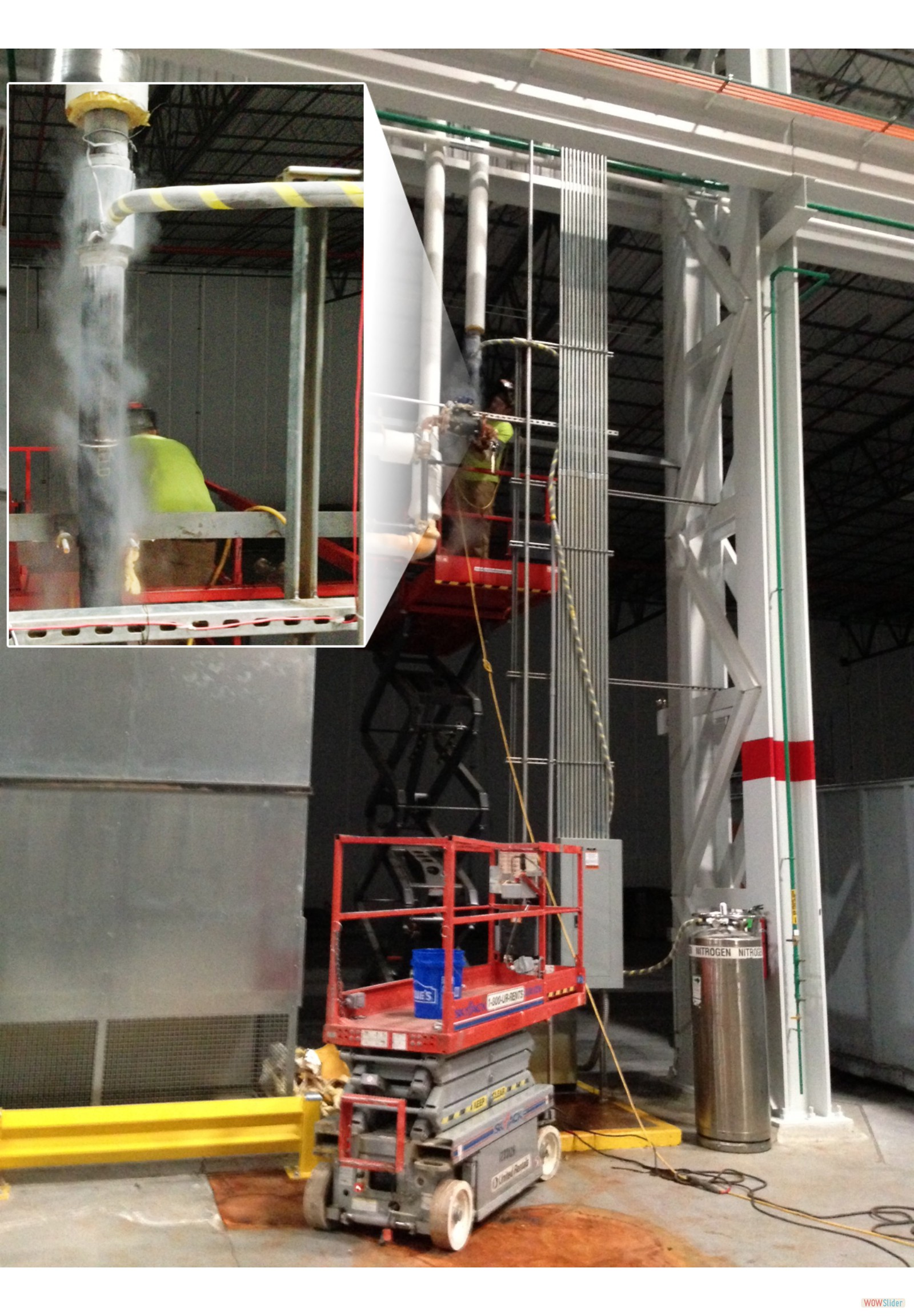 3 Inch Pipeline System Leak Repair March 2014