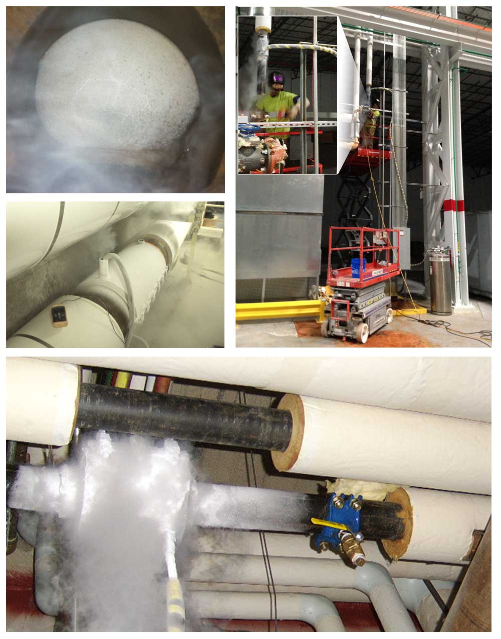 Indoor Pipeline Freeze Plug Services Natwionwide