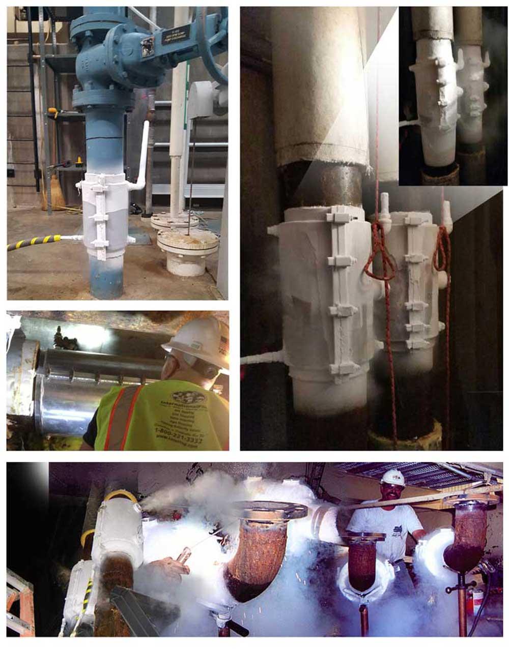 Pipeline Freeze Plugs Using Liquid Nitrogen Services