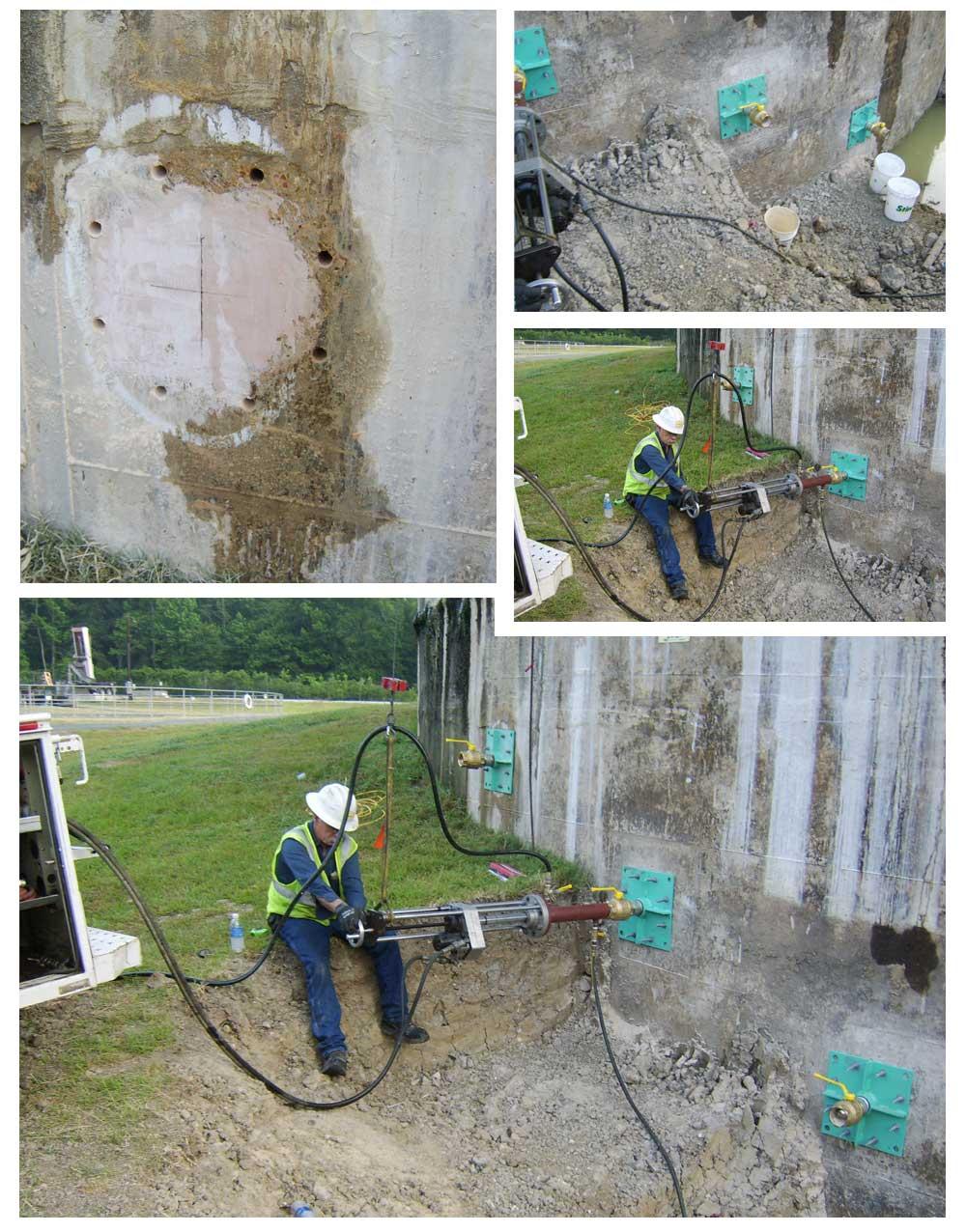 wall taps tank taps vessel taps with slug retention